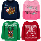 Carter's Cyber Week! Cute Holiday Sweaters $4 (Reg. $24+) + Free Shipping