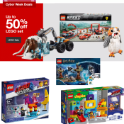 Target Cyber Monday! Save up to 50% On LEGO Sets! (13 Sets at 50% off,...