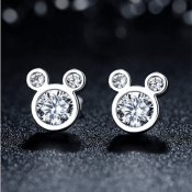 Amazon: Disney Mouse Sterling Silver Stud Earrings $7.19 After Code (Reg....