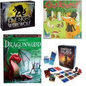 Today Only! Amazon! Save Up to 50% On Fun Strategy Games: Dragonwood, Werewolf...
