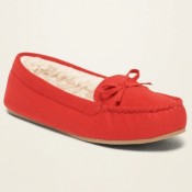 Today Only! Old Navy: Sherpa Moccasins Shoes $8 (Reg. $24.99)