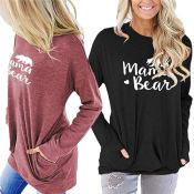 Amazon Holiday Deal: Mama Bear Long Sleeve Tees as low as $12.99 After...
