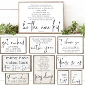 Today Only! Jane: Chic Farmhouse Art $3.87 (Reg. $23.50)