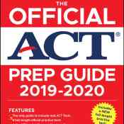 Amazon: The Official ACT Prep Guide 2019-2020 Book, 5 Practice Tests, Bonus...