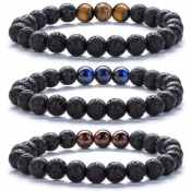 Amazon: Lava Rock Bead Bracelets to Diffuse Essential Oils from $5 After...