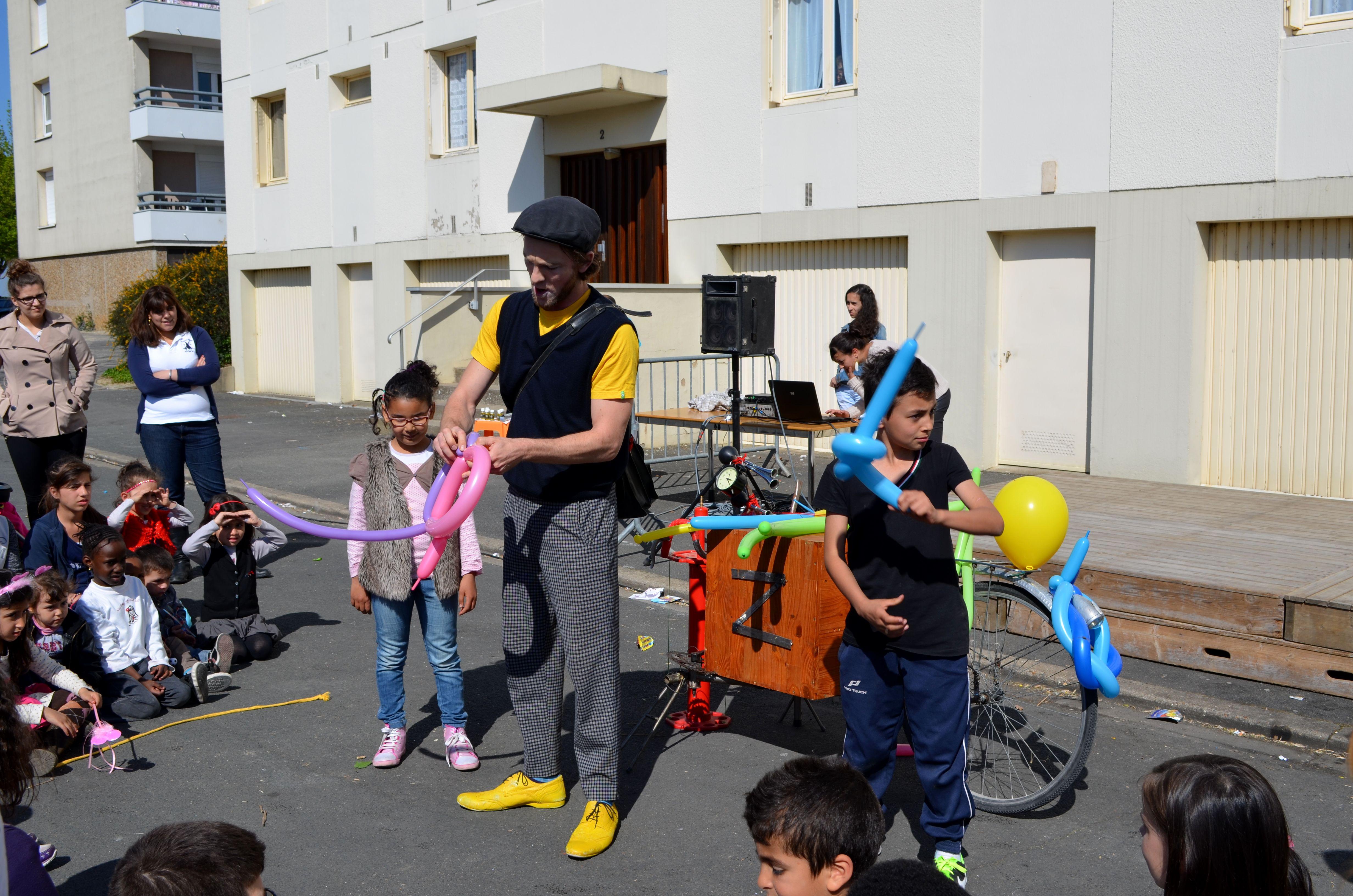 spectacle enfants rue