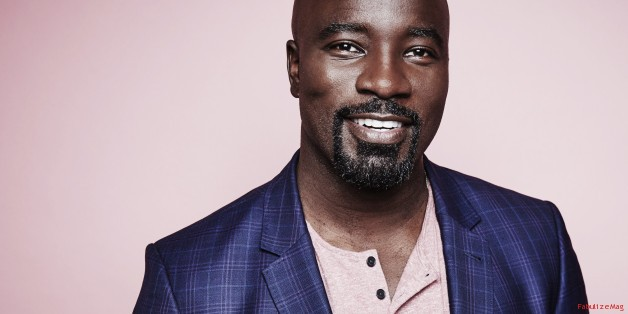 BEVERLY HILLS, CA - JULY 27: (EDITORS NOTE: This image has been digitally altered) Actor Mike Colter from Netflix's 'Luke Cage' poses for a portrait during the 2016 Television Critics Association Summer Tour at The Beverly Hilton Hotel on July 27, 2016 in Beverly Hills, California. (Photo by Maarten de Boer/Getty Images Portrait)