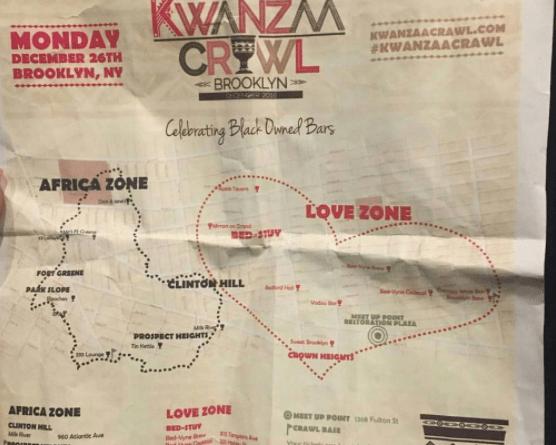 Kwanzaa Crawl in Brooklyn was Black and LIT as F*€$ 🔥 | Kwanzaa Crawl in Brooklyn
