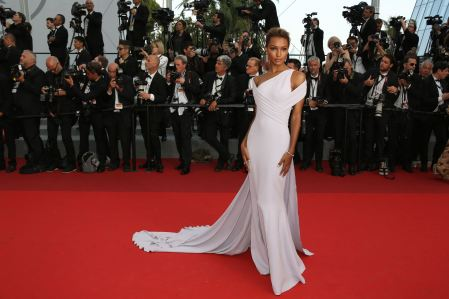 Jasmine Tookes attend the 'The Beguiled' screening attending the 'The Beguiled' screening during the 70th annual Cannes Film Festival at Palais des Festivals on May 24, 2017 in Cannes, France. Photo by David Boyer/ABACAPRESS.COM