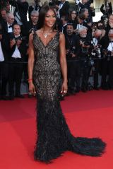 Mandatory Credit: Photo by Matt Baron/BEI/Shutterstock (8835421di) Naomi Campbell Anniversary Soiree, 70th Cannes Film Festival, France - 23 May 2017