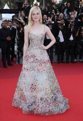 Mandatory Credit: Photo by Matt Baron/BEI/Shutterstock (8835421jl) Elle Fanning Anniversary Soiree, 70th Cannes Film Festival, France - 23 May 2017