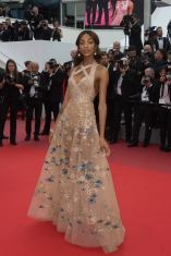 Jourdan Dunn arriving on the red carpet of 'Mise a mort du cerf sacre (The Killing Of A Sacred Deer)' screening held at the Palais Des Festivals in Cannes, France on May 22, 2017 as part of the 70th Cannes Film Festival. Photo by Nicolas Genin/ABACAPRESS.COM