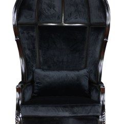 Black Throne Chair Wedding Covers Bands Fabulous And Baroques Balloon Furniture Review
