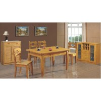 6 CHAIRS KITCHEN DINING TABLE SET