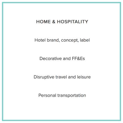 Home and hospitality