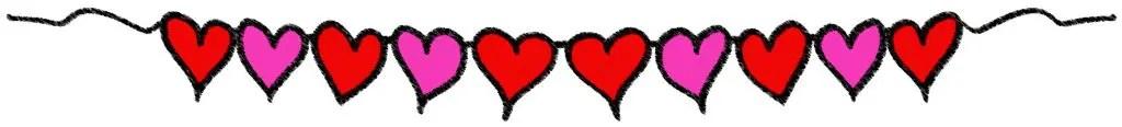 FREE Valentine's Day Hearts (P4 Clips Trioriginals Digital Clip Art) | Arte