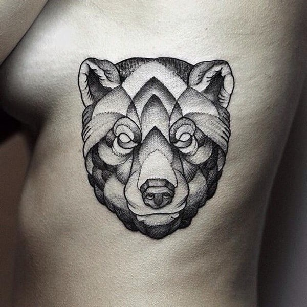 bear tattoo design &