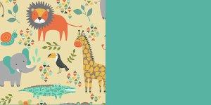 Jungle Animals-Electric