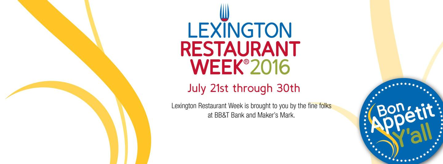 lexington restaurant week 2016