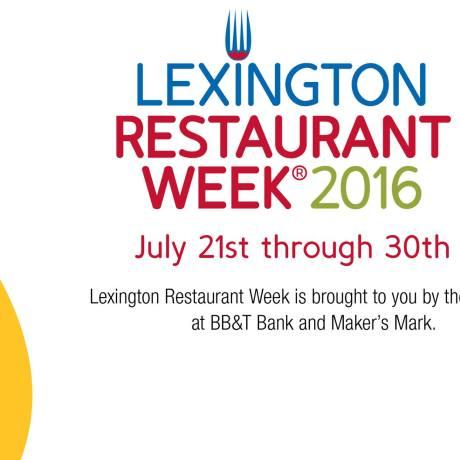lexington restaurant week 2016