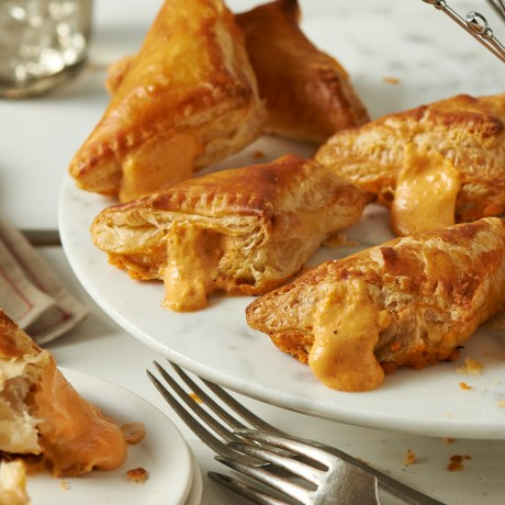 bourbon beer cheese puffs