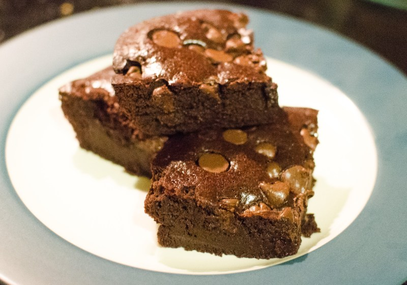 bourbon brownies