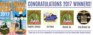2017 beer cheese festival winners