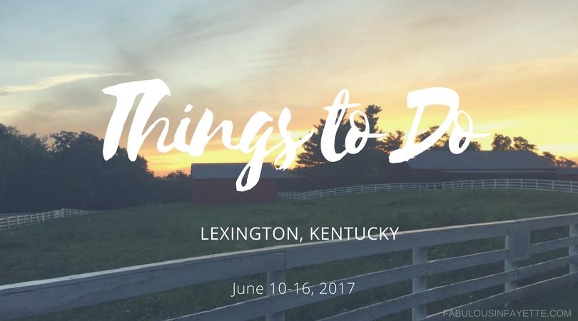 things to do lexington kentucky