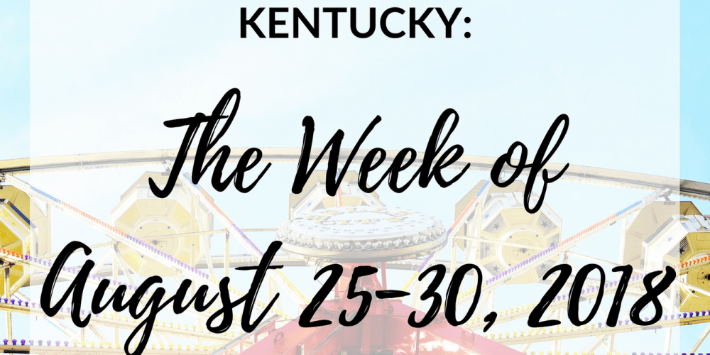 It's almost the end of August and this upcoming week looks exciting, especially this weekend with the Chevy Chase Street Fair. Check out some of the other events in Lexington coming up this week! #sharethelex #visitlex #lexingtonky #kentucky