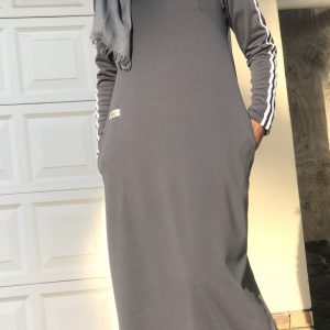 Grey Sportsluxe Dress