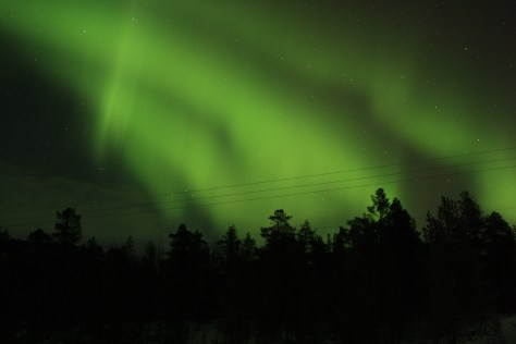 Northern Lights in Lapland, FInland