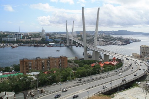 Golden Horn Bridge, Vladivostok