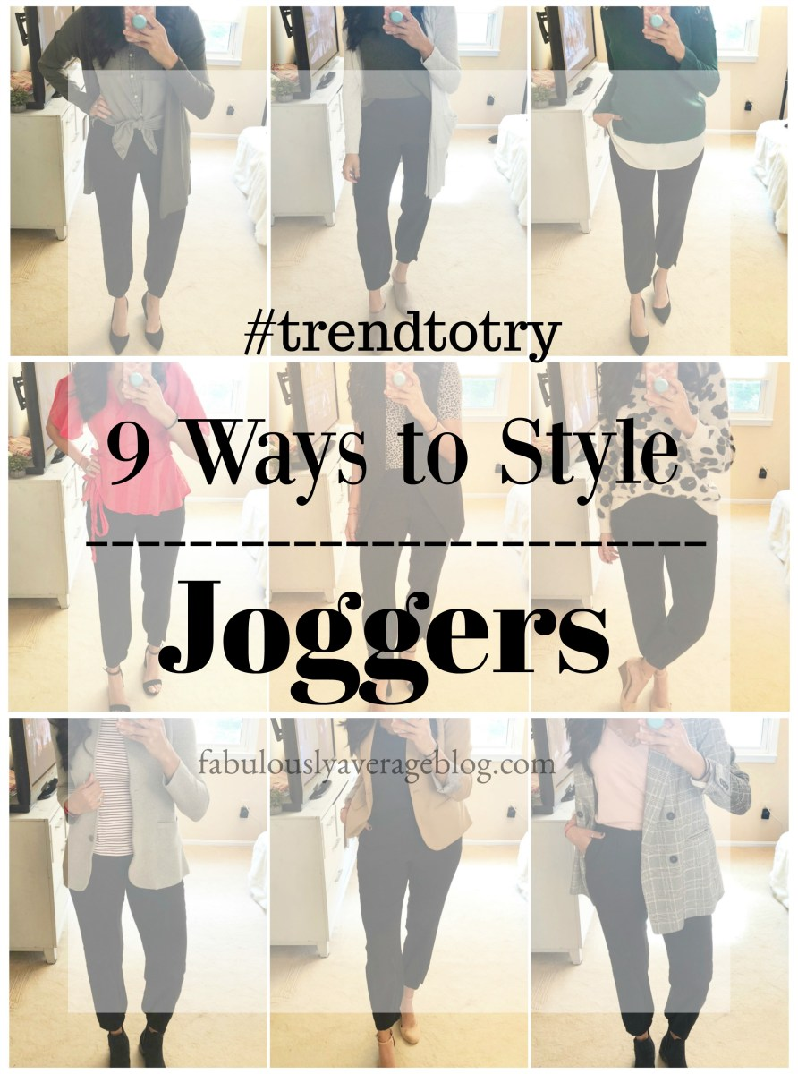 9 Ways to Wear Joggers to the Office