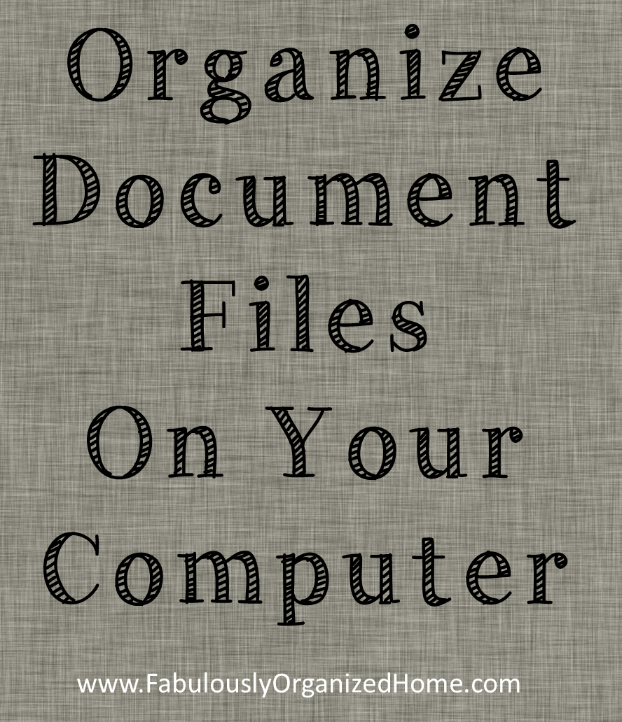Great tutorial on how to effectively organize your