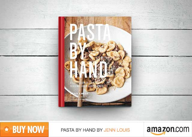 Review of the cookbook Pasta by Hand by Jenn Louis