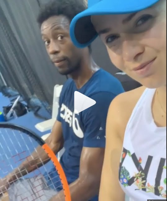 Who is Elina Svitolinas Boyfriend Its Gael Monfils
