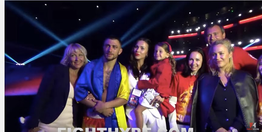 Elena Lomachenko Boxer Vasyl Lomachenkos Wife