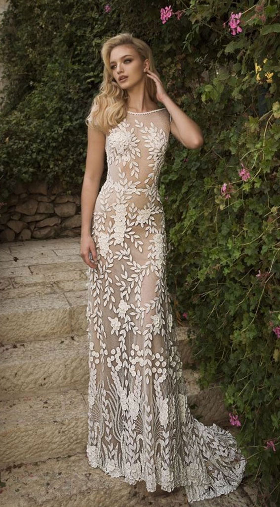 38 Romantic Boho Wedding Dresses - boho wedding gown #weddingdress #weddinggown