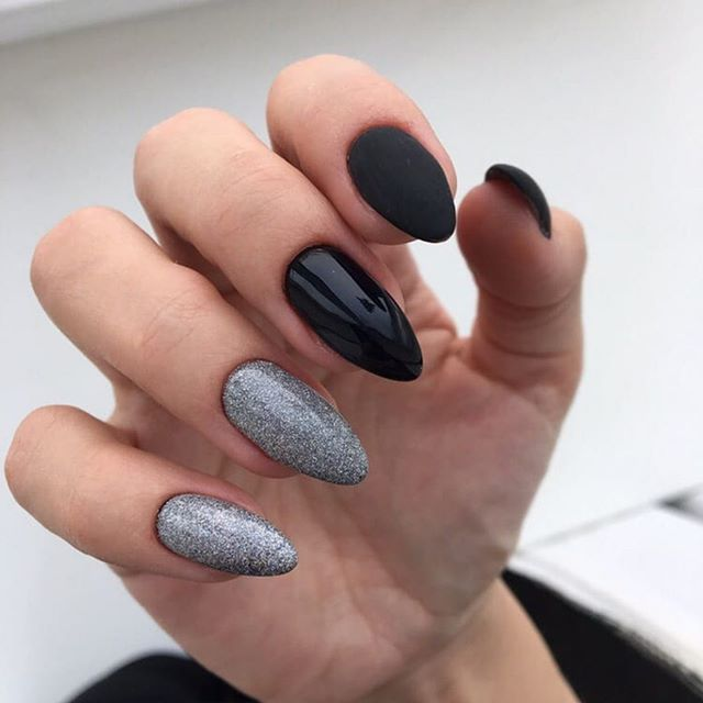 100 spring nail art ideas 2020, best spring nails 2020, mismatched nail art designs, spring nail art designs, nail art designs #nailart #springnails