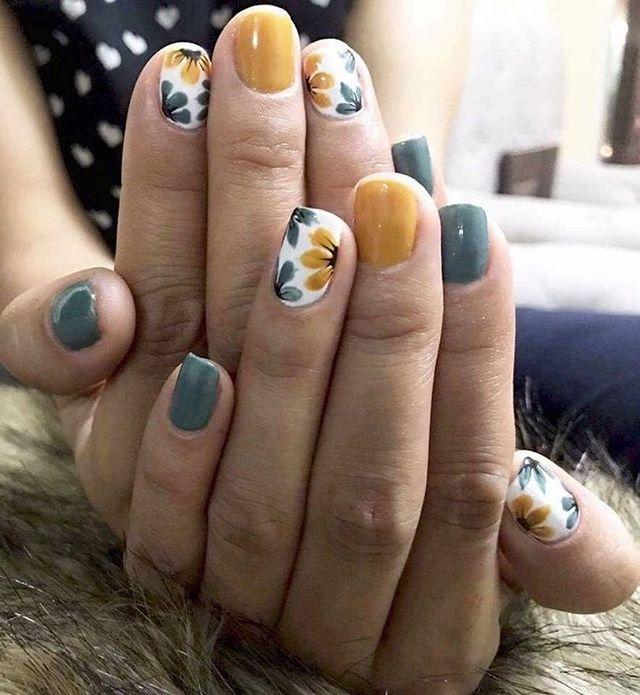 Easy Spring Nail Designs 2020