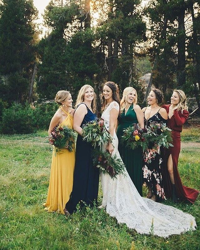 bridesmaid trends 2020 that are fabulous 13, bridesmaid dresses, bridesmaid dress trends 2020, bridesmaid dresses 2020, bridesmaid dress colors, mismatched bridesmaid dresses 2020 #bridesmaiddresses