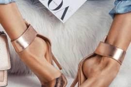 high heels, black high heels, classic high heels, nude shoes, nude heels, best high heels, best heels 2020, best high heels 2020 #highheels chrome effect heels, rose gold high heels