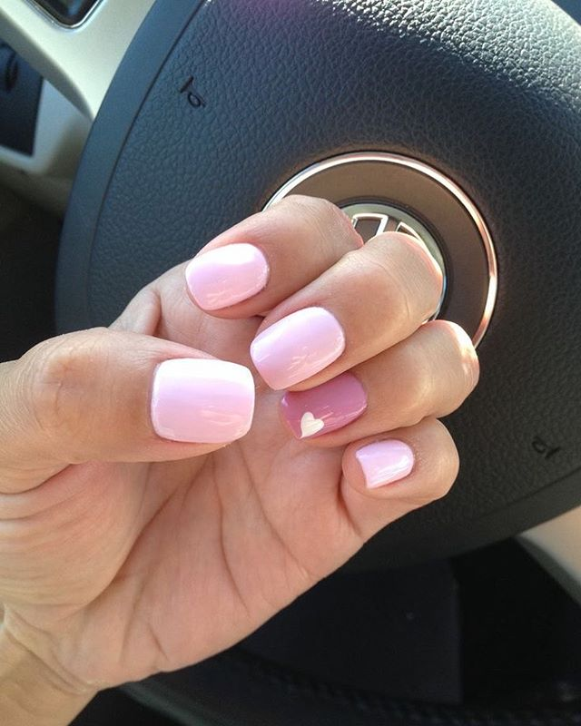 best nail art ideas for Valentine's day 2020 - 8, valentine nails 2020, valentines day nails 2020, valentine's day acrylic nails, valentine gel nails, valentines day nails 2020, nail designs, heart nail art , pink nail art, pink nail colors, simple heart nail designs, easy heart nail art, heart nail designs for short nails, heart tip nails,  heart toe nail designs, pink nails with red hearts