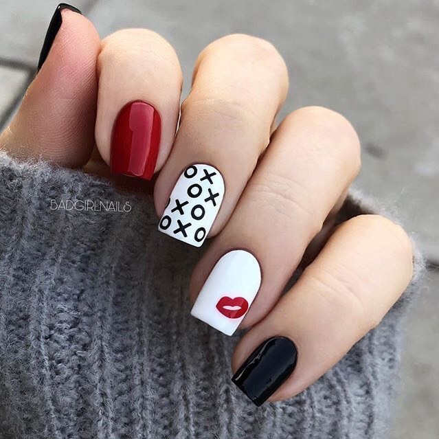 best nail art ideas for Valentine's day 2020 - 37, valentine nails 2020, valentines day nails 2020, valentine's day acrylic nails, valentine gel nails, valentines day nails 2020, nail designs, heart nail art , pink nail art, pink nail colors, simple heart nail designs, easy heart nail art, heart nail designs for short nails, heart tip nails, heart toe nail designs, pink nails with red hearts