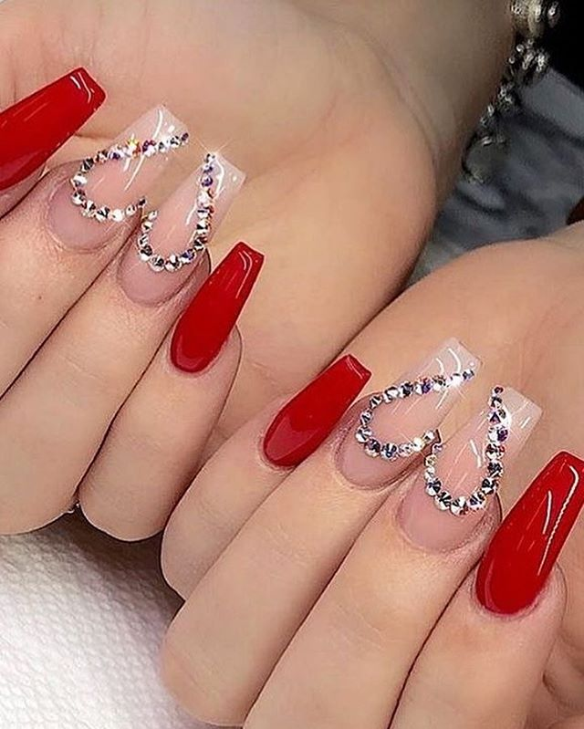 best nail art ideas for Valentine's day 2020 - 30, valentine nails 2020, valentines day nails 2020, valentine's day acrylic nails, valentine gel nails, valentines day nails 2020, nail designs, heart nail art , pink nail art, pink nail colors, simple heart nail designs, easy heart nail art, heart nail designs for short nails, heart tip nails, heart toe nail designs, pink nails with red hearts