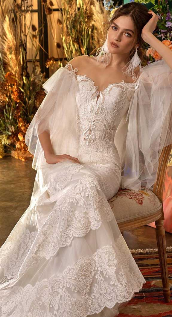 100 the most incredible wedding dresses , sleeveless wedding dress, a line wedding dress, mermaid wedding dress
