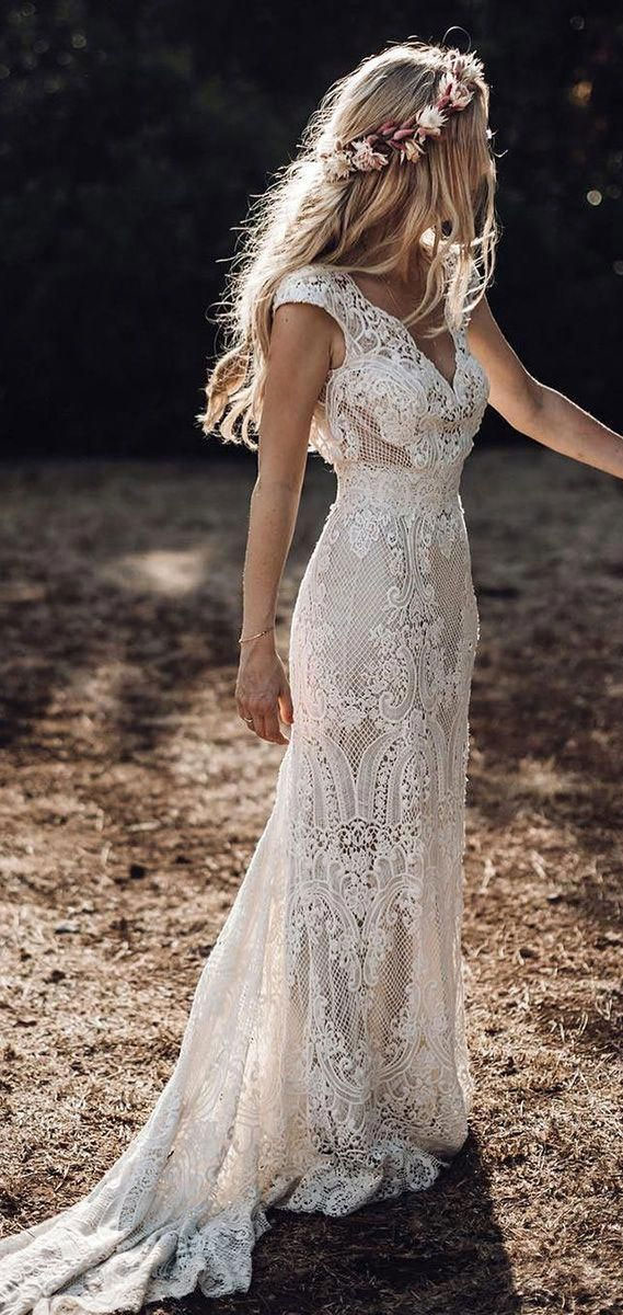8 Gorgeous Country Style Wedding Dresses #wedding country style wedding dress #weddingdresses  lace wedding dresses, rustic wedding dresses, casual country wedding dresses, high low country wedding dresses, cowgirl wedding dresses, fab wedding dress , fab wedding dresses, rustic wedding dresses with sleeves, lace wedding dress casual western wedding dresses