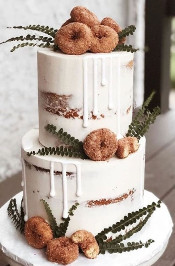 8 Awesome wedding cake with donuts #weddingcake wedding cake with donuts, alternative wedding cake, wedding cake , wedding cake ideas, alternative wedding cakes , wedding cakes 2020 , best wedding cakes 2020
