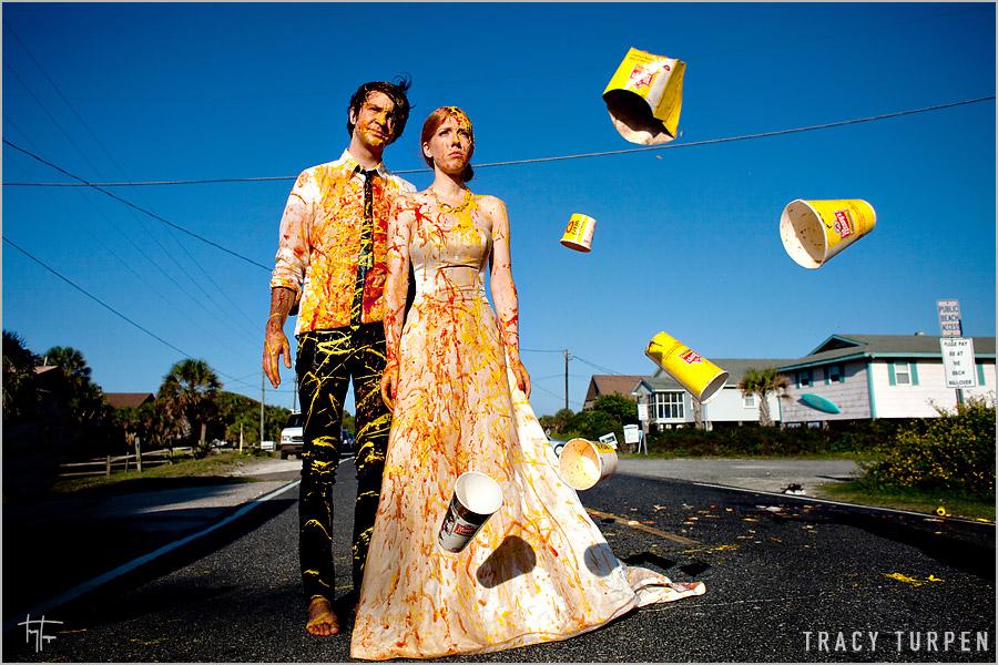 trash your dress  Fabulous Weddings