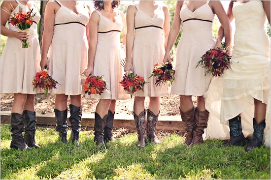 International Fashion: Country Style Wedding
